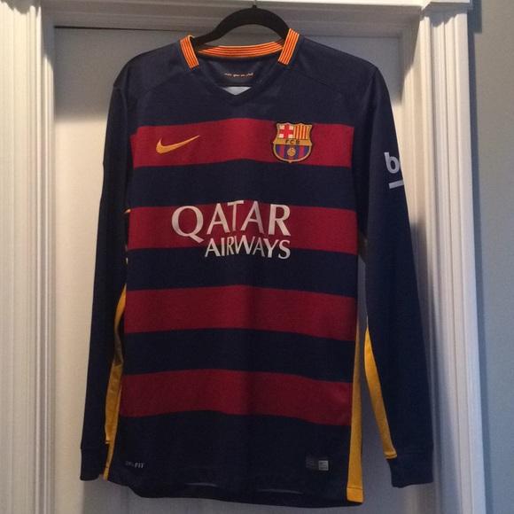 c17fba1c2 Nike Shirts | Fc Barcelona Longsleeve Jersey | Poshmark
